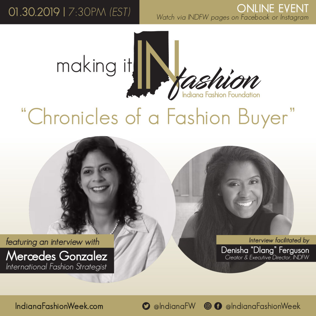 Making it IN Fashion with Mercedes Gonzalez