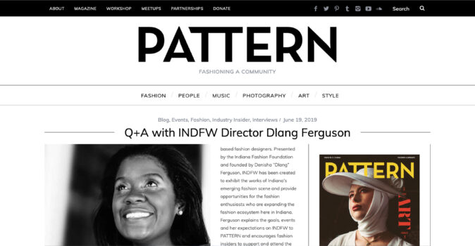 Q+A with INDFW Director Dlang Ferguson