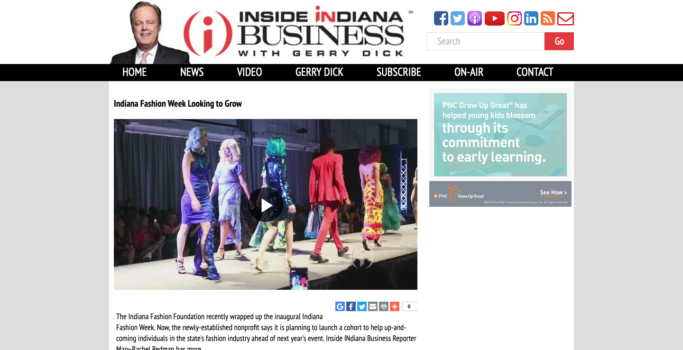 Indiana Fashion Week Looking to Grow